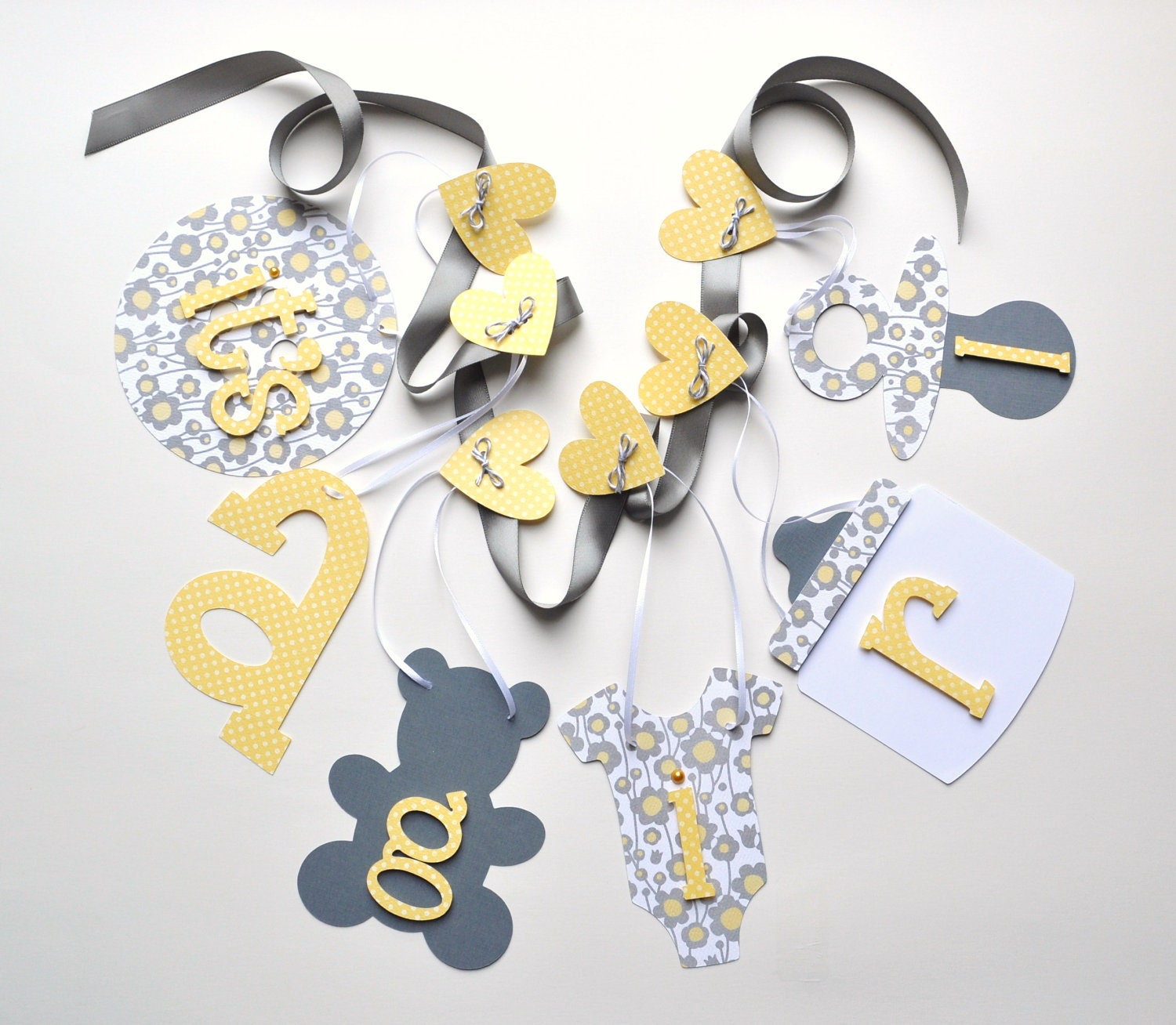 last one yellow and grey baby shower decorations it 39 s a