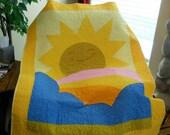 CLEARANCE SALE Sunshine Lap Quilt