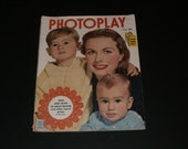 Vintage PHOTOPLAY Magazine May 1950 - Collectible Magazine - Scrapbooking - Movie Stars -  Kirk Douglas