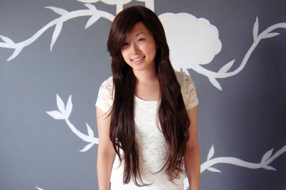 Au Natural - Dark Brown Superlong Wig - FREE SHIPPING