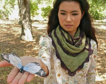 Leafwing PDF Knitting Pattern Instant Download