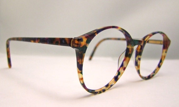 Glasses Frames Hong Kong : Anne Klein Tortoiseshell Designer Eyeglasses Made in Hong