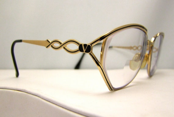 Glasses Frames Made In Italy : Vintage Valentino Eyeglasses made in Italy Mint by ...