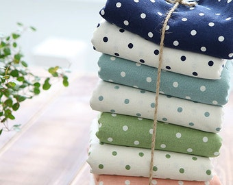 Lovely Dots on Linen, U3337