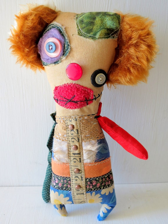 Plush Monster Doll - Dotty