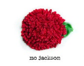 handmade flower ribbon pin