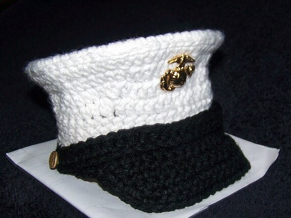 Marine baby USMC dress blues Marine Corps hat you pick the size and colors