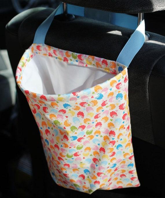 Car Trash Bag Reusable Auto Garbage or Storage
