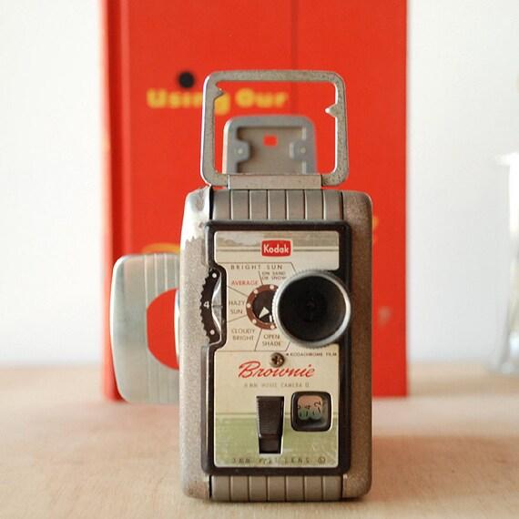 Vintage Camera Kodak Brownie 8mm Movie Camera II - MCM Film Camera