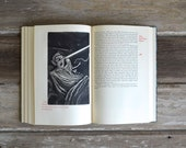 Edgar Allan Poe 1941 antique book // Tales of Mystery and Imagination