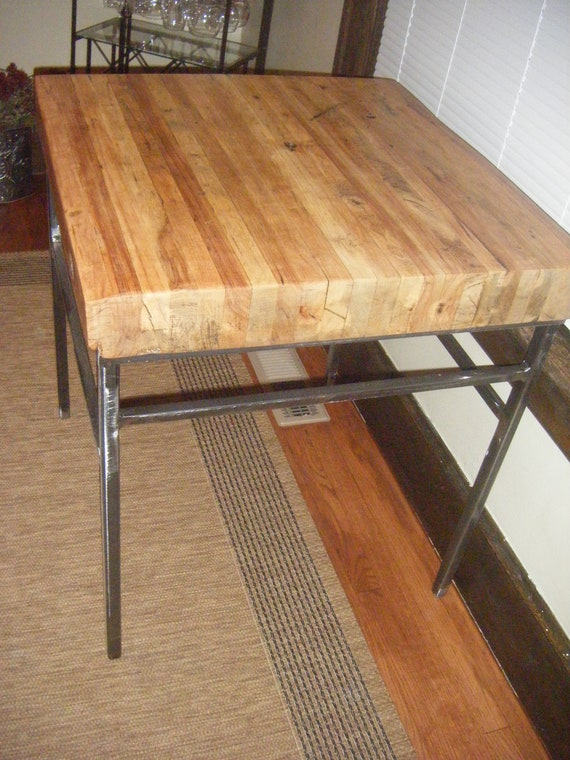 Items similar to repurposed vintage industrial kitchen for Repurposed kitchen table