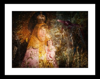 Lady 12 X16 Fine Art Print