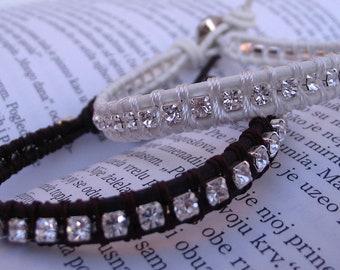 Fire & Ice bracelet (white)