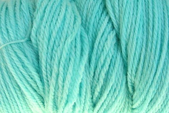 Ocean Blue Sport DK Weight Hand Dyed Merino Wool Yarn