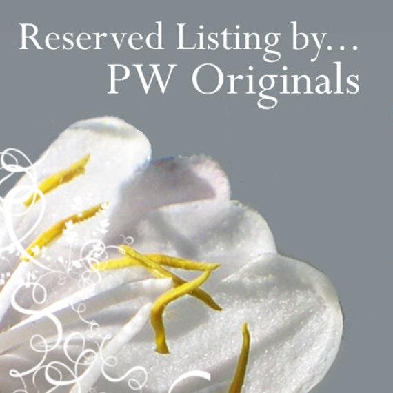 Reserved Listing for Linda