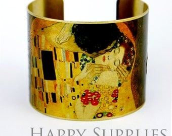 Last-Clearance Sale - New Technology - 1pcs (PBC031) Handmade Photo Brass Cuff Bracelet