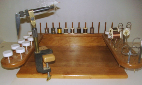 Fly Tyers Tying Bench