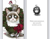 Snarls Dickens Christmas Card
