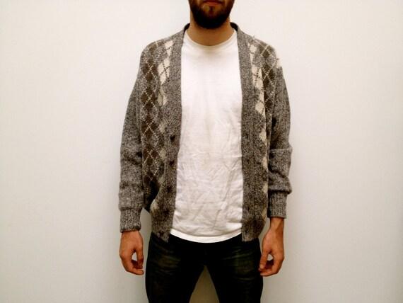 Vintage Irish Wool Cardigan