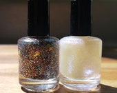 Mini Nail Polish Duo: Street Rat and Diamond in the Rough
