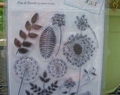 Autumn Leaves Stampology Clear Stamps Fine & Dandy Buy More than One and Get a DISCOUNT