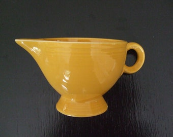 vintage yellow fiesta creamer cream pticher