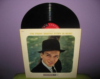 SHOP CLOSING SALE Vinyl Record Album The Frank Sinatra Story in Music Double Lp 1958 Crooner Icon Traditional Pop Classics