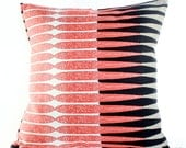 18X18 Bamboo Stripe Spice Pillow Cover