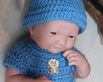 PDF PATTERN Crochet 14 inch Berenguer Baby Doll La Newborn Yarn Newborn Set Boy or GIrl