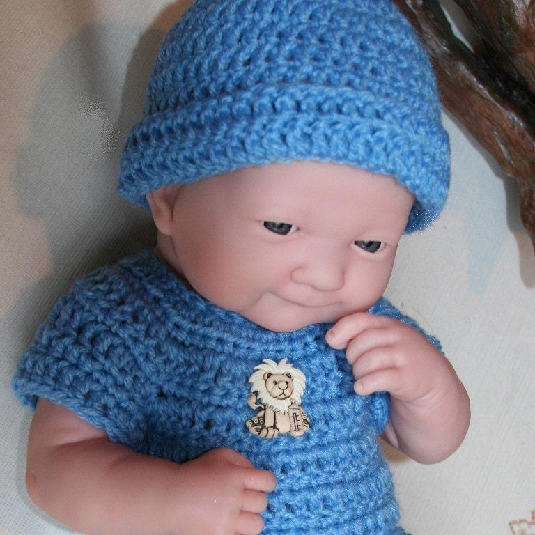 PDF PATTERN Crochet 14 inch Berenguer Baby Doll La Newborn