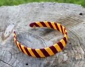 Harry Potter Woven Headband - Gryffindor - Burgundy and Gold Headband