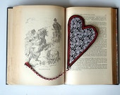 CLEARANCE Valentine Heart Bookmark