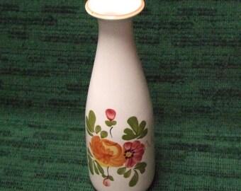 Ceramic Floral Vase for FTD Folk Art Design