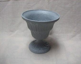 Vintage Cast Iron Urn Planter