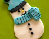 Snowman cupcake toppers, ...