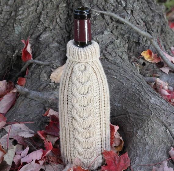 Reisling Wine Bottle Sweater