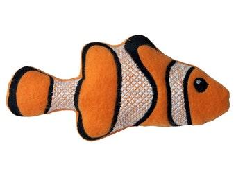 Clown Fish Catnip Filled Cat Toy