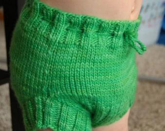 Wool Diaper Cover Shorties Soaker Newborn Baby Toddler