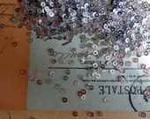 sequins, silver, shiny, choose 3mm or 4mm