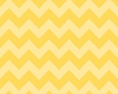 Medium Chevron Tone on Tone Yellow by Riley Blake Designs 1 yd total