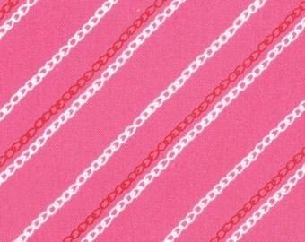 YARD SALE.... Sew Stitchy from Aneela Hoey for Moda, Chain Stitch Carnation 1 yard