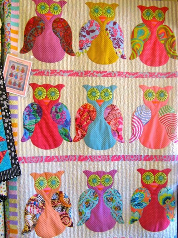 9 Wise Owls Quilt Pattern : owl quilts patterns - Adamdwight.com