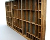 Letterpress Type Drawer or Shadowbox / Hamilton Typeset Drawer - ConceptFurnishings