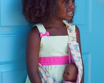 Child Size Baby Doll Sling--you pick the fabric!