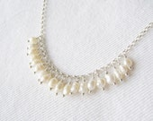Small collections series: garland of tiny 1920s freshwater pearls no. 3