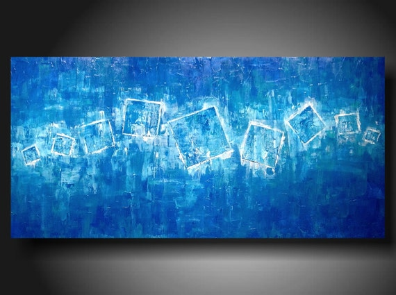 Original Art Abstract paintings Heavy textured 48 X 24 INCHES JMJartstudio Taking a lead on sale save 50 dollars