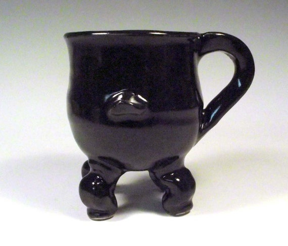 Cauldron Mug  - Merry Meet Dancing Cauldron Series
