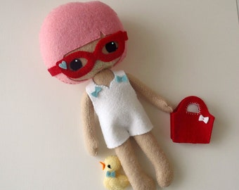 Outfit - Beach Set pdf Pattern for Best Friends Dolls - Instant Download