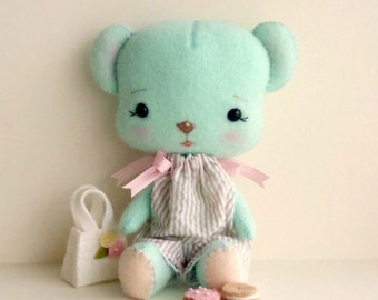 Biscuit Bear pdf Pattern - Instant Download
