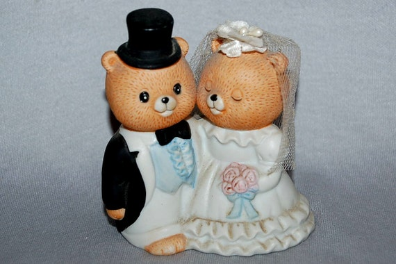 teddy bear wedding cake toppers vintage teddy and groom wedding cake topper 20791